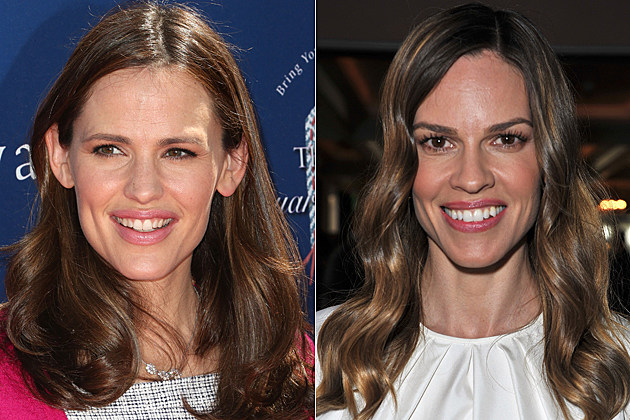 Jennifer Garner Hilary Swank