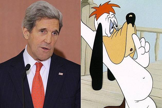 John Kerry Droopy