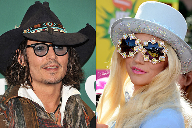 Johnny Depp Kesha