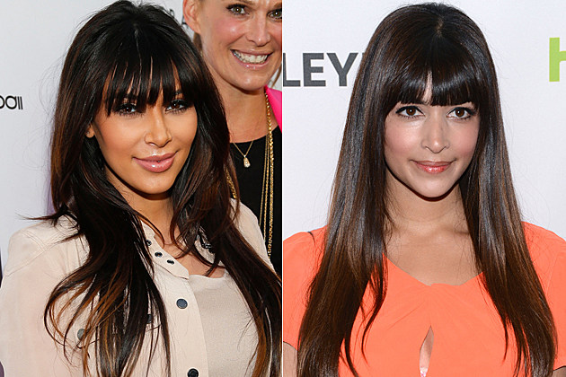 Kim Kardashian Hannah Simone