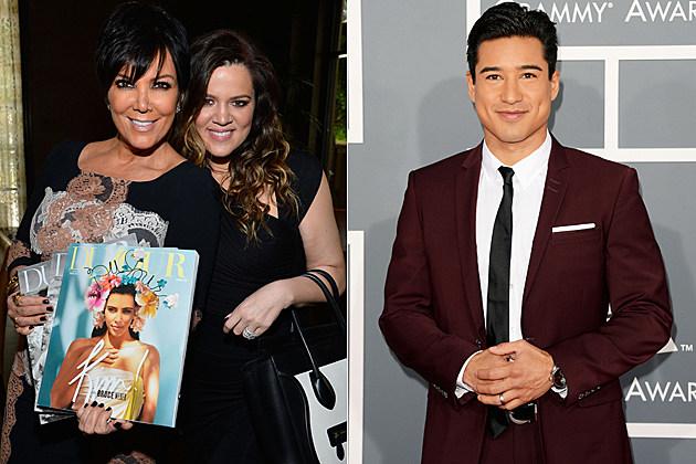 Kris Jenner Khloe Kardashian Mario Lopez