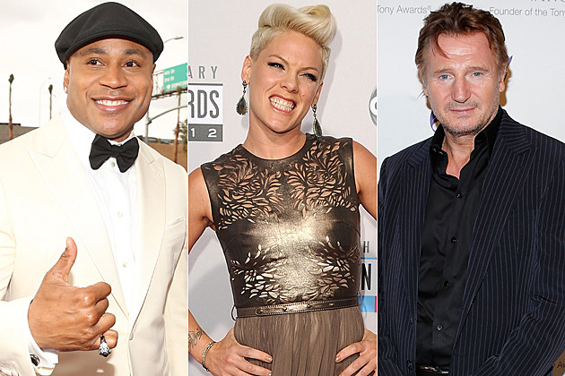 LL Cool J Pink Liam Neeson Stars Who Are Older Than You Think