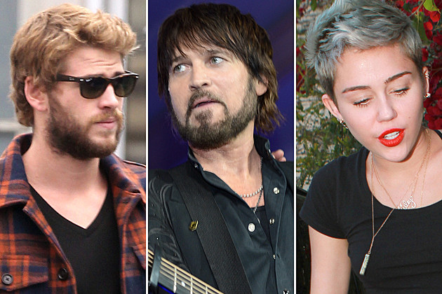Liam Hemsworth Billy-Ray-Cyrus-Miley Cyrus