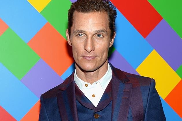 Matthew McConaughey Suit