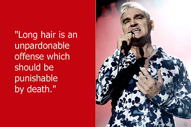 Dumb Celebrity Quotes Morrissey