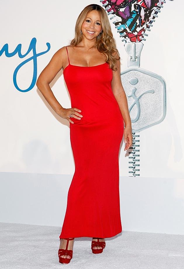 Mariah Carey Red Jenny Craig