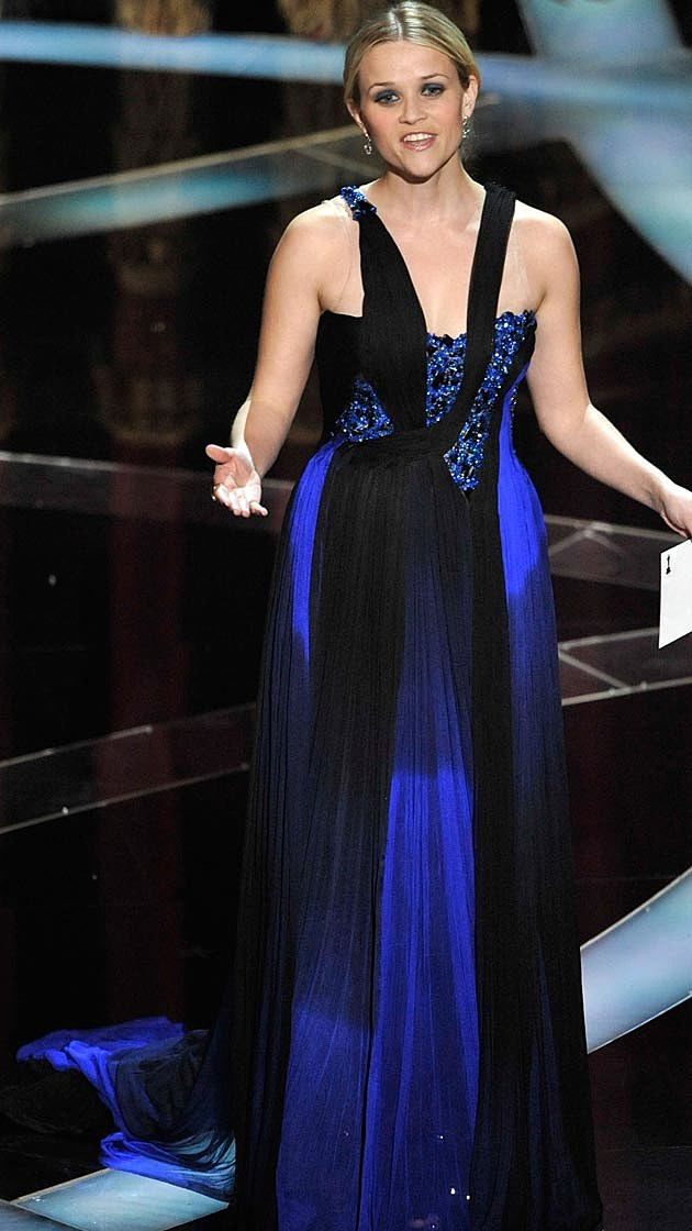 Reese Witherspoon Oscars 2009 Blue Rodarte