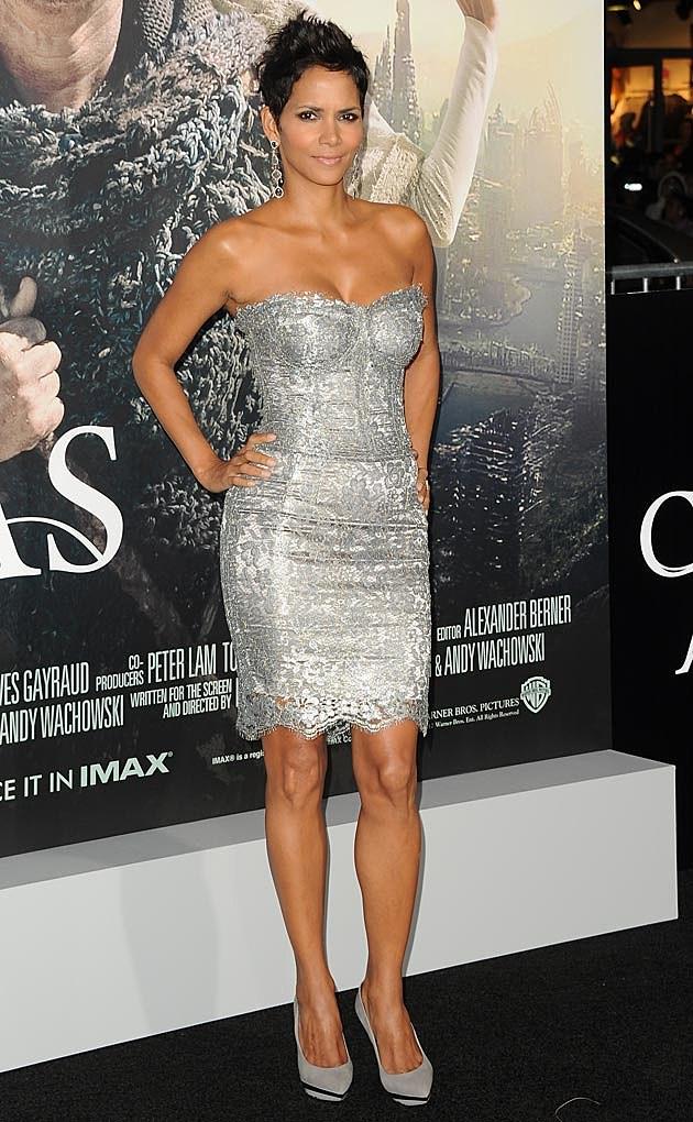 Halle Berry Silver Dolce & Gabbana