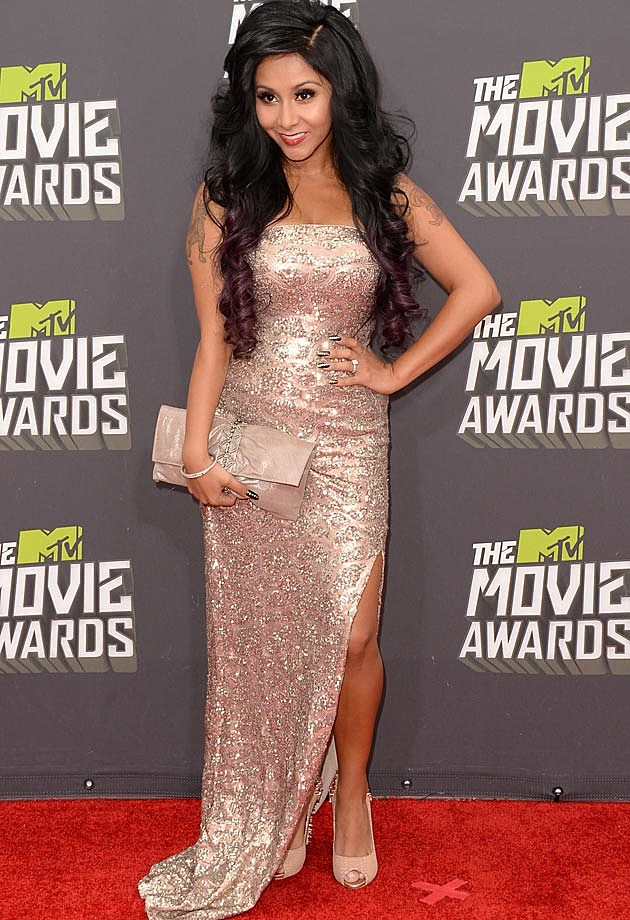 Snooki 2013 MTV Movie Awards