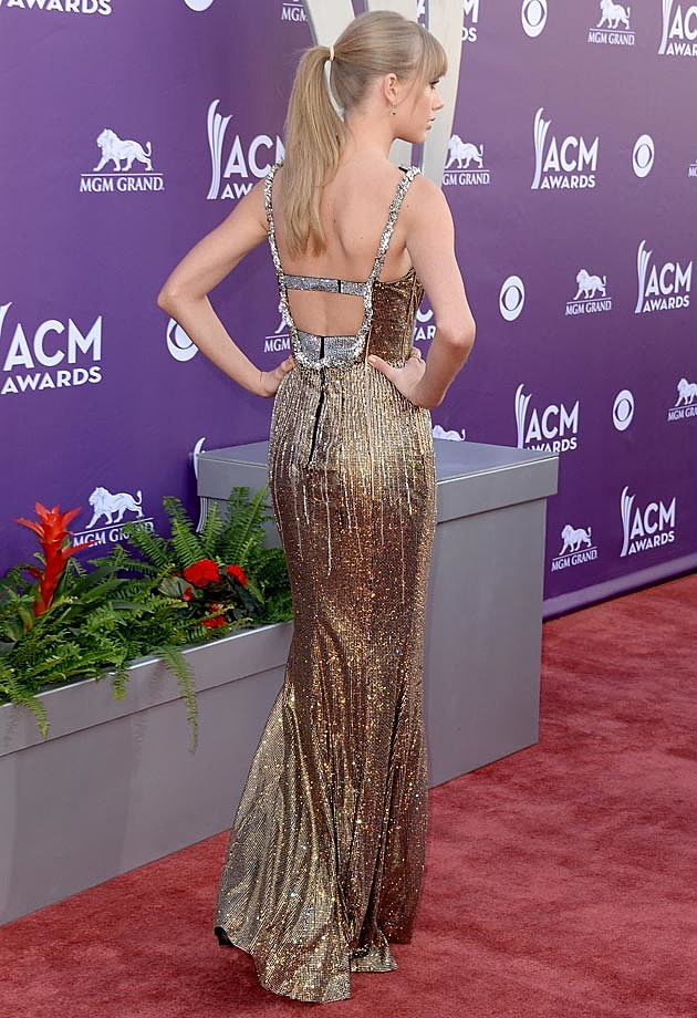 Taylor Swift 2013 ACMs Back