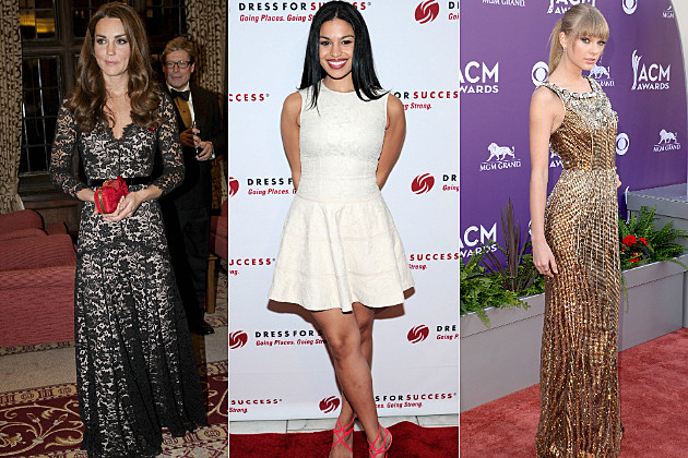 The Duchess of Cambridge, Jordin Sparks and Taylor Swift are surprisingly tall celebrity women.