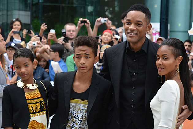 Willow Smith Jaden Smith Will Smith Jada Pinkett