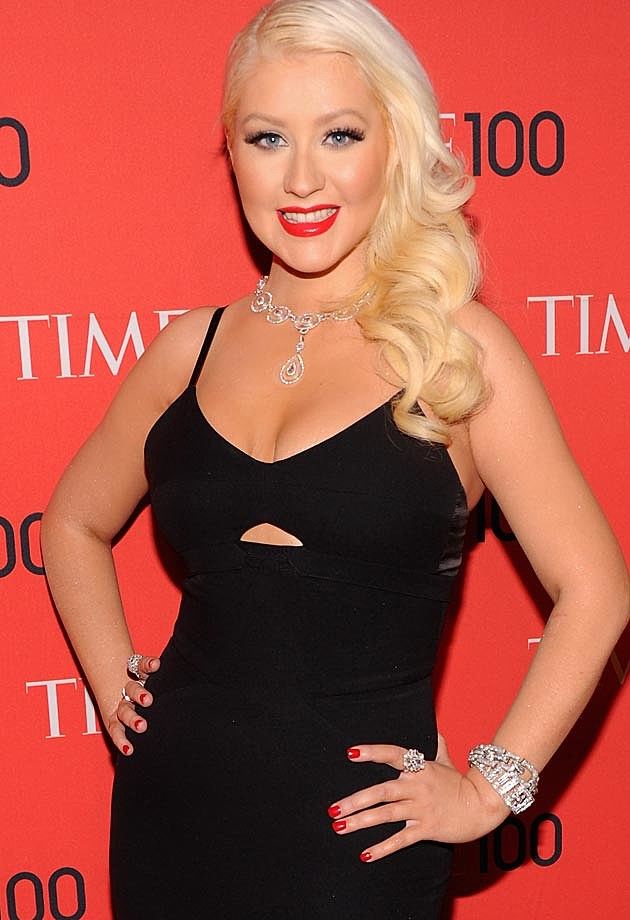 Christina Aguilera Victoria Beckham Time 100