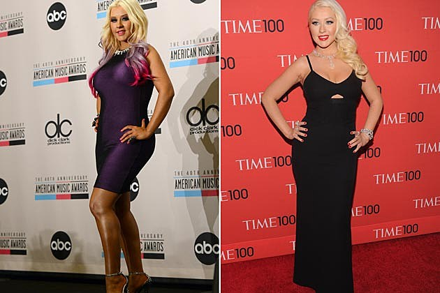 Christina Aguilera Before After