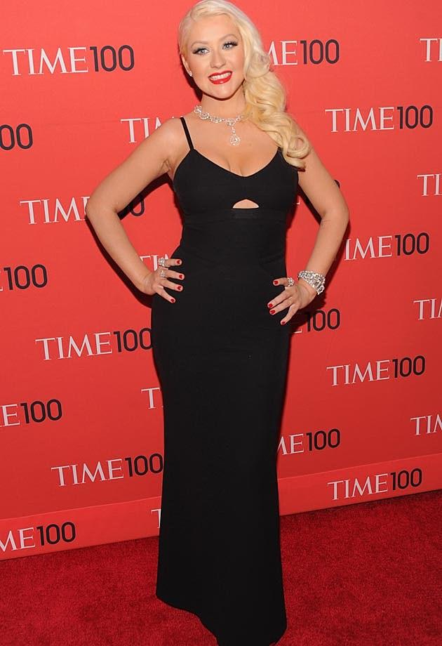 Christina Aguilera Time 100