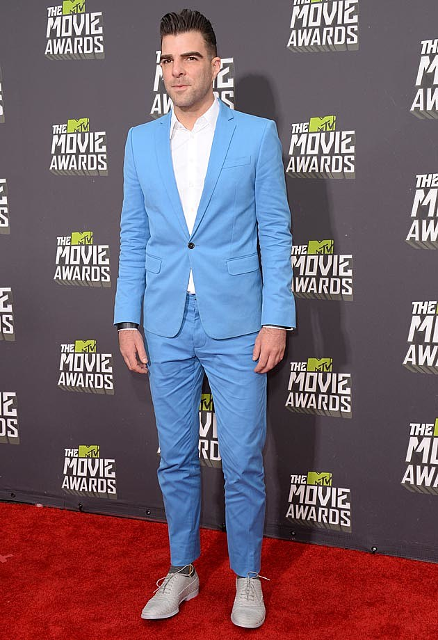 Zachary Quinto 2013 MTV Movie Awards