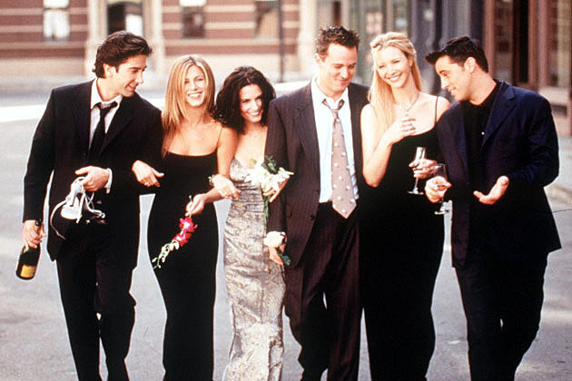 David Schwimmer, Jennifer Aniston, Courteney Cox, Matthew Perry, Lisa Kudrow, Matt LeBlanc