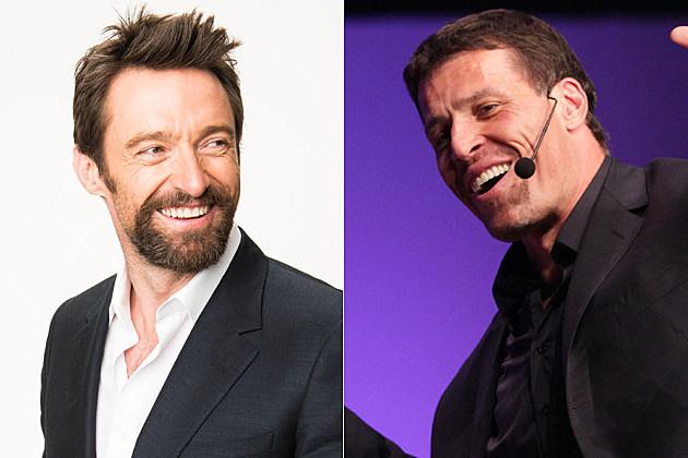 Hugh Jackman Tony Robbins