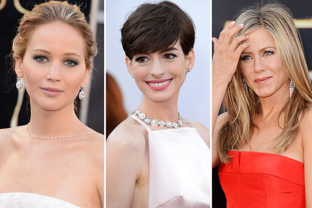 Jennifer Lawrence, Anne Hathaway, Jennifer Aniston