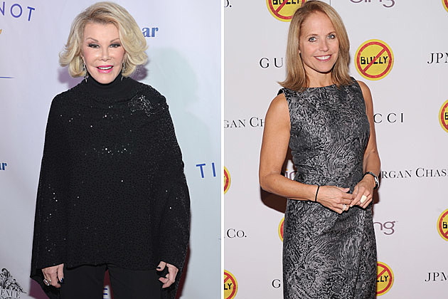 Joan Rivers, Katie Couric