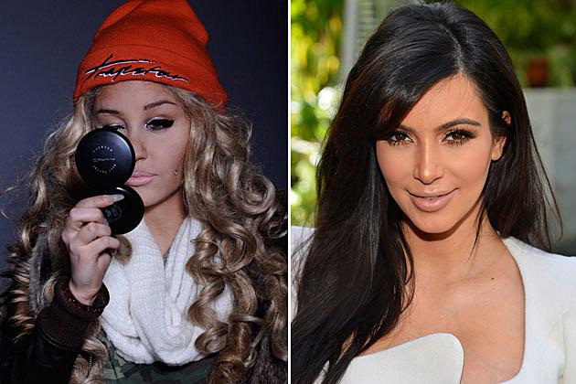 Amanda Bynes, Kim Kardashian