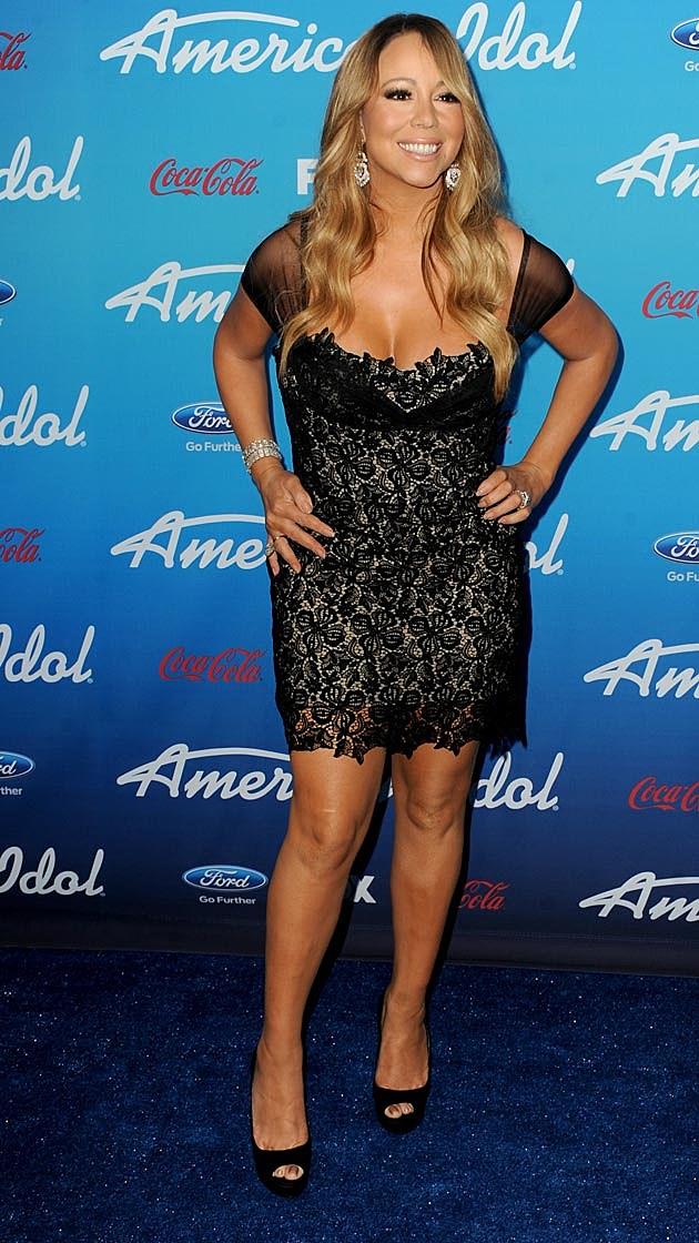 Mariah Carey Lacey American Idol