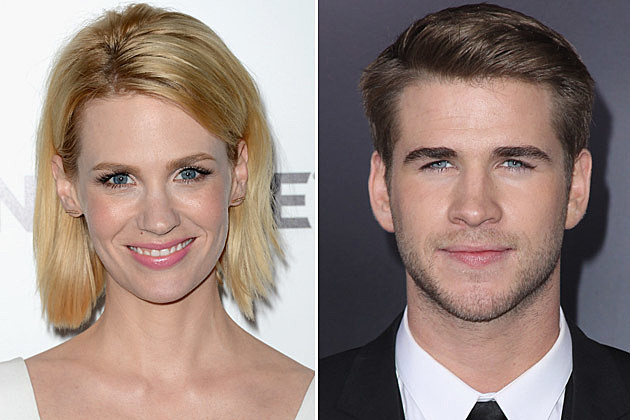 January Jones, Liam Hamsworth