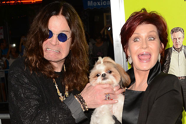 Sharon Ozzy Osbourne Aren T Wearing Their Wedding Rings Are Reportedly Living Apart