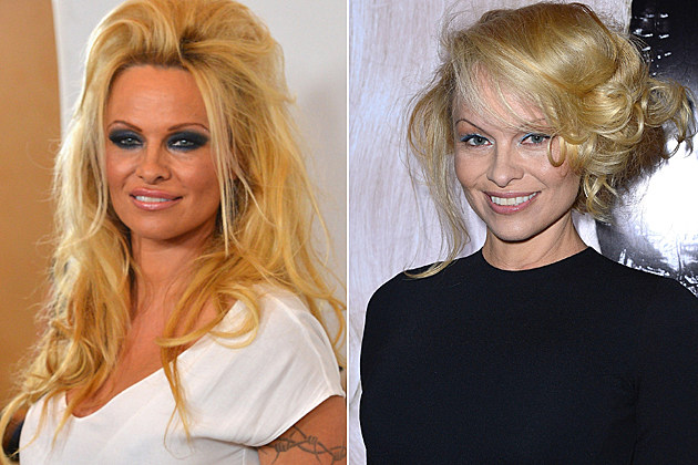 Pamela Anderson before and after