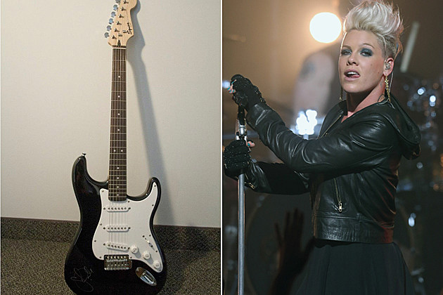 Win a Guitar from Pink