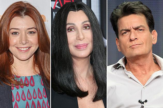 Alyson Hannigan, Cher, Charlie Sheen