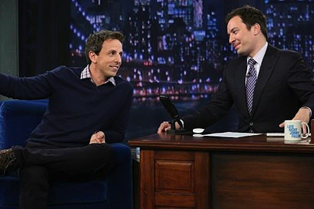 Seth Meyers Jimmy Fallon