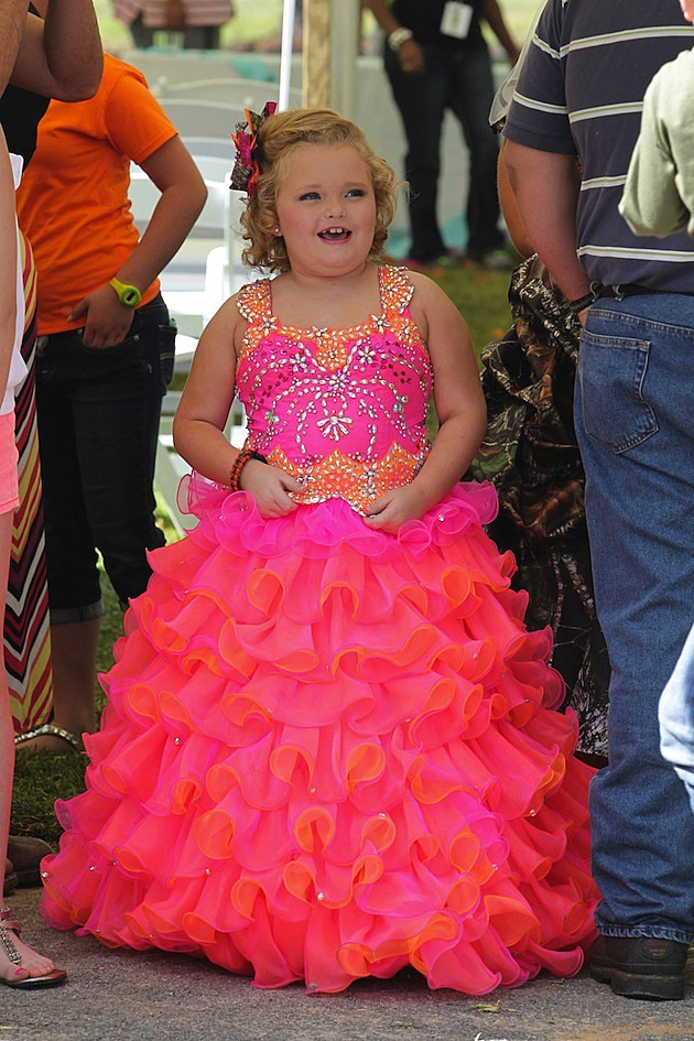 Honey Boo Boo's Mama June Marries Sugar Bear in a ...
