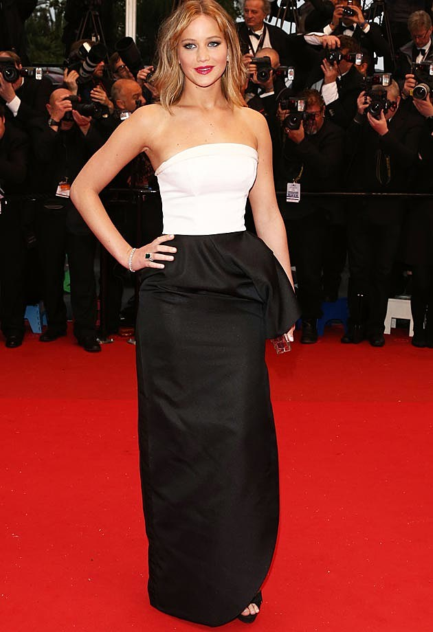 Jennifer Lawrence Dior Gown Jimmy P