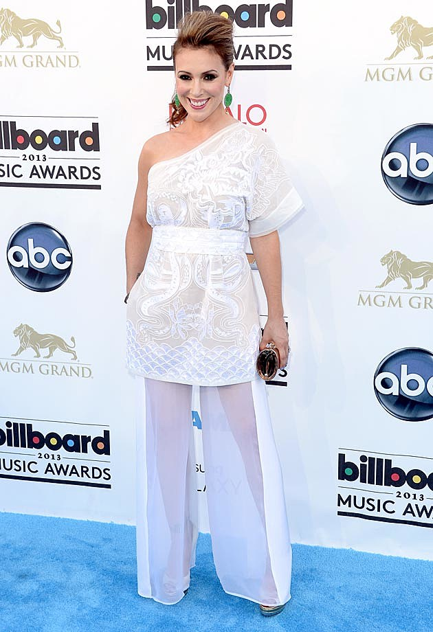 Alyssa Milano 2013 Billboard Music Awards