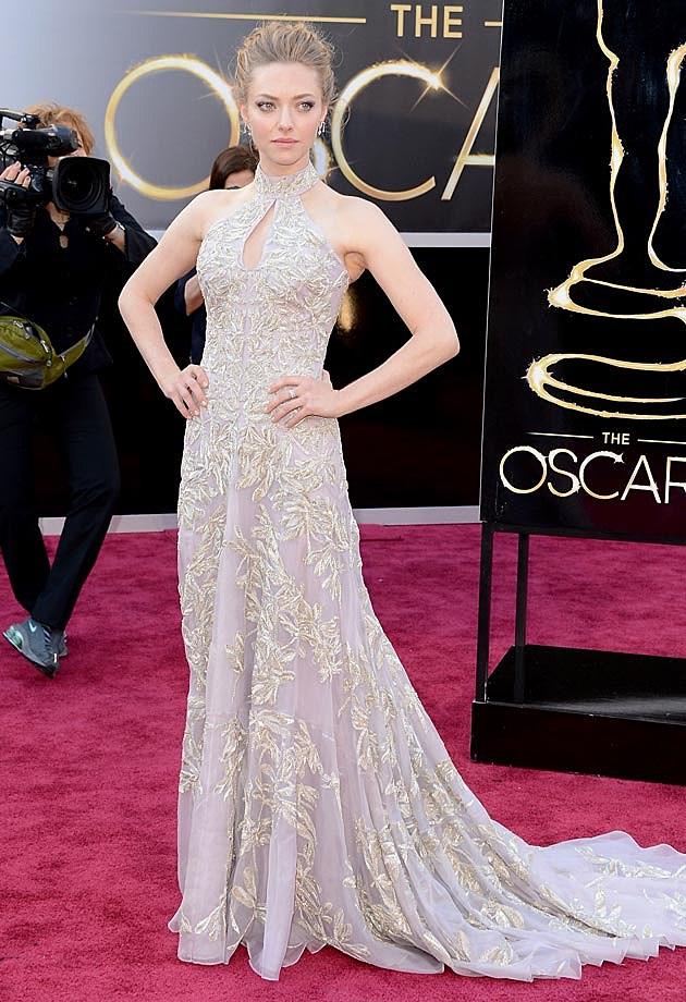 Amanda Seyfried Oscars 2013 McQueen