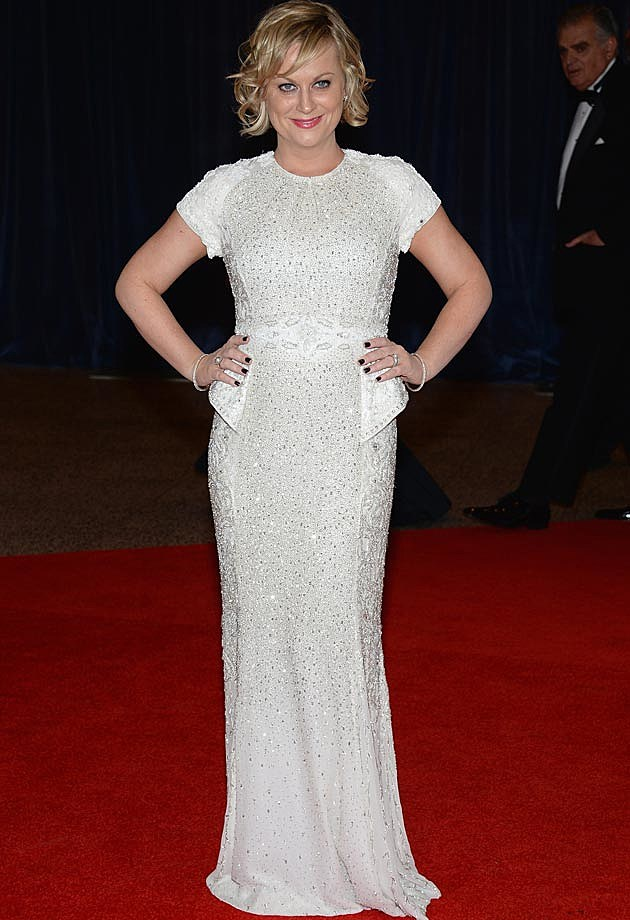 Amy Poehler Basler White House Correspondents Dinner