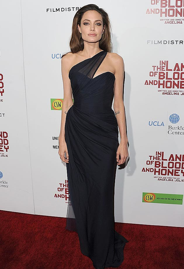 Angelina Jolie Blue Romona Keveza