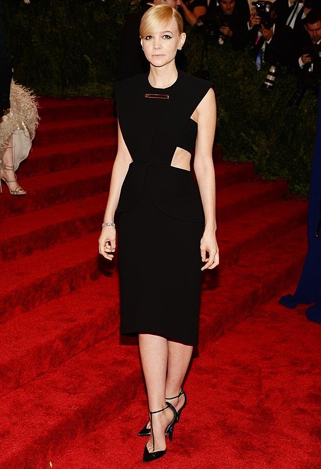 Carey Mulligan Balenciaga Met Gala 2013