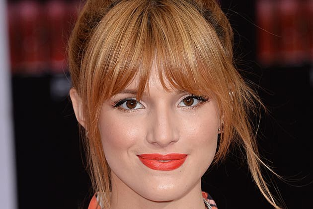 Bella Thorne Orange Lips
