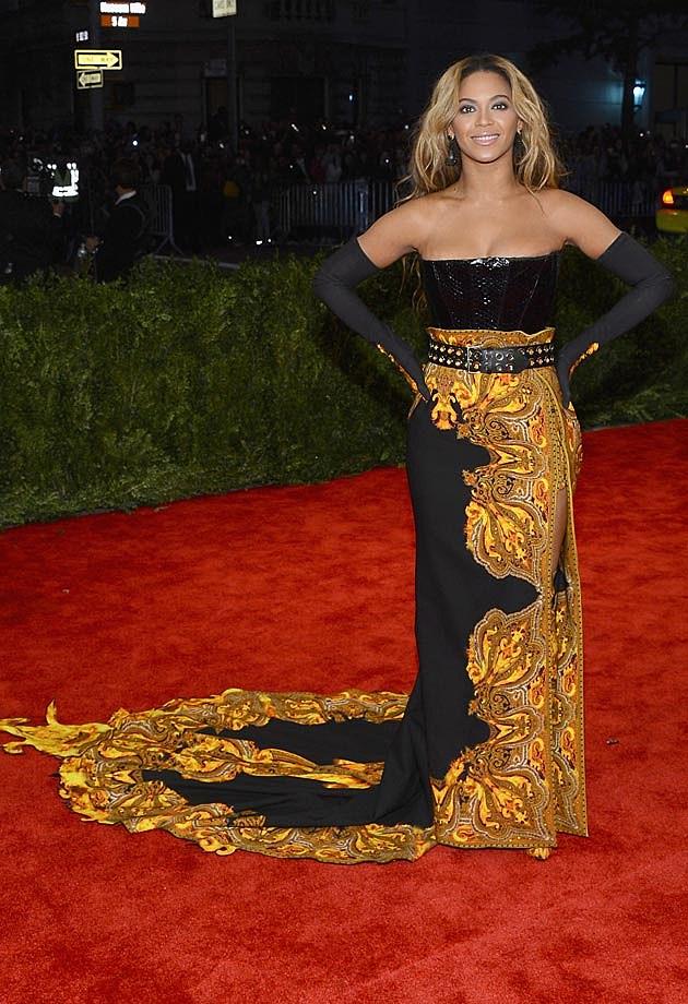 Beyonce 2013 Met Gala Kenzo