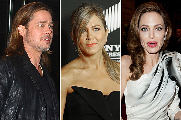 Brad Pitt-Jennifer Aniston Angelina Jolie