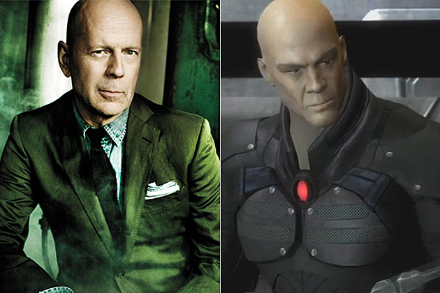 Bruce Willis Lex Luthor