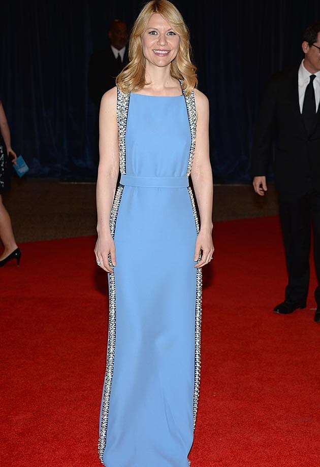 Claire Danes Prada White House Correspondents Dinner