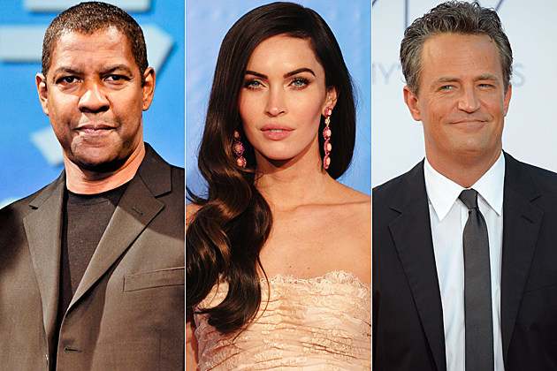 Denzel Washington Megan Fox Matthew Perry