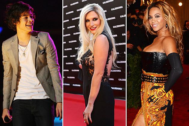 Harry-Styles-Kesha-Beyonce