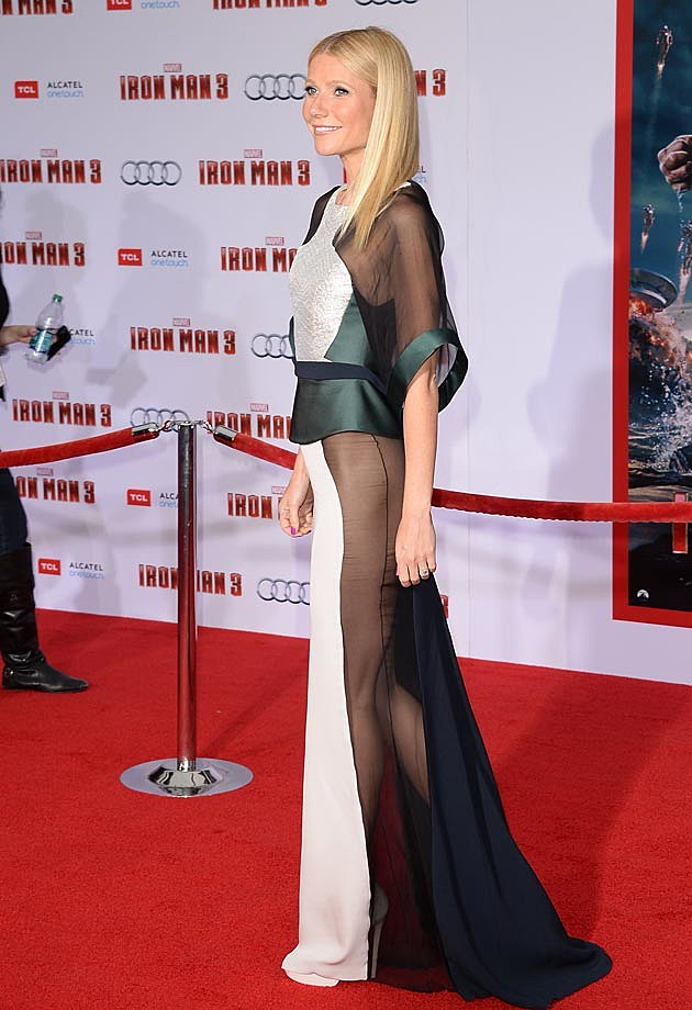 Gwyneth Paltrow Iron Man 3 Antonio Berardi