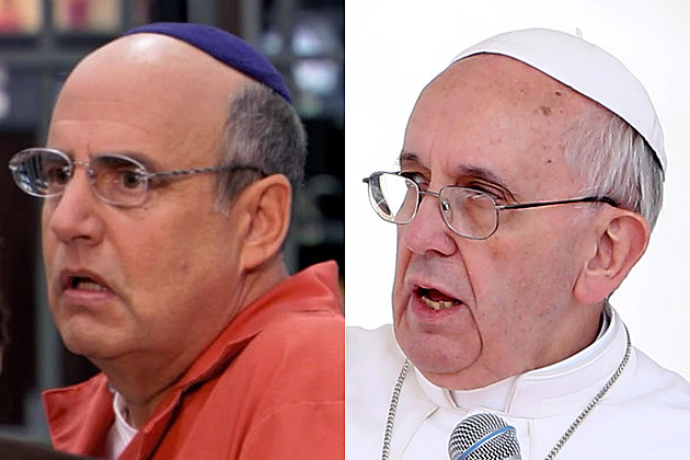 Jeffrey Tambor Pope Francis