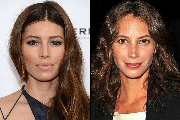 Jessica Biel Christy Turlington