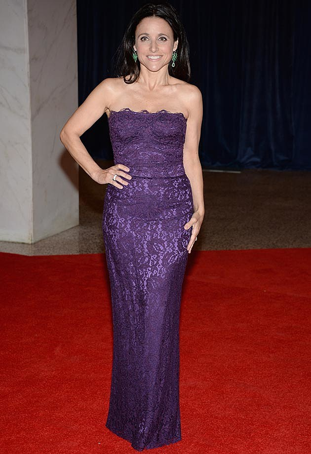 Julia Louis-Dreyfus Dolce & Gabbana White House